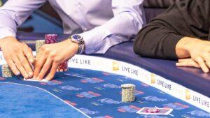 PLO poker strategy in play.
