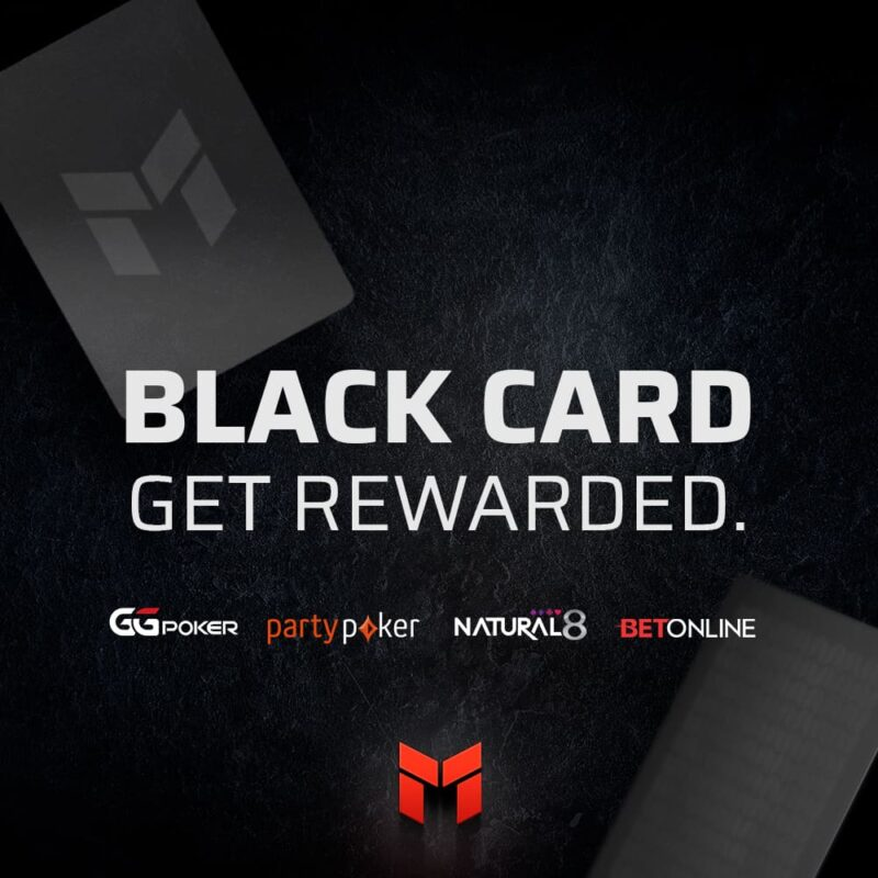 Invitation to join PLO Mastermind's Black Carg affiliate program.