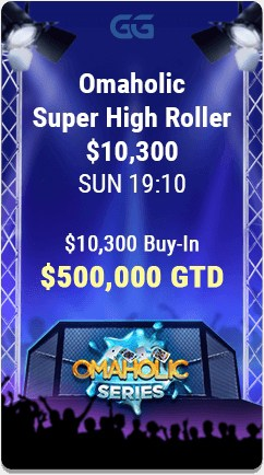 GGPoker's Omaholic Tournament Series Super High Roller Event.